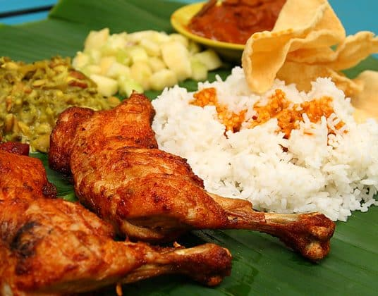 BB Top 10 Food: Banana Leaf Rice | BB 十大推薦:  印度香蕉葉飯