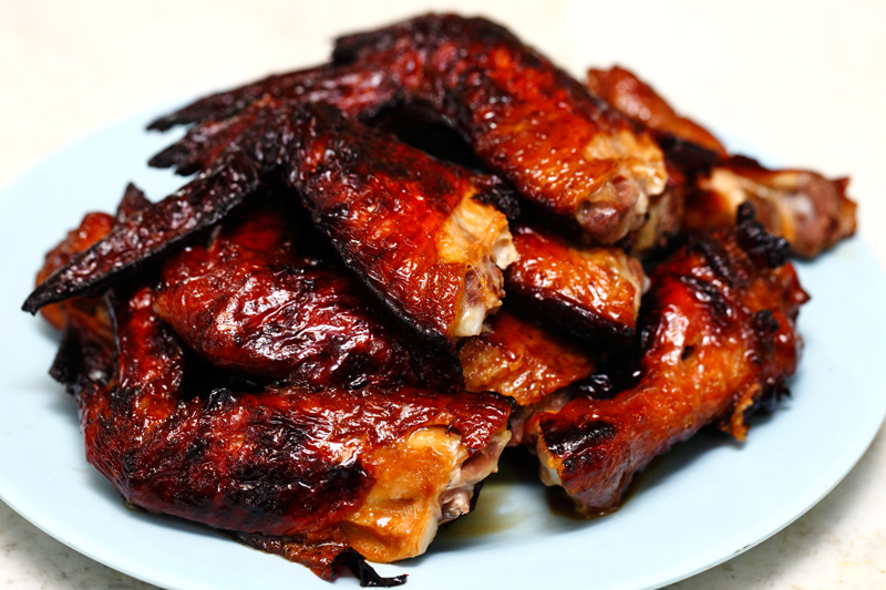 BB Top 10 Food: BBQ Chicken Wings | BB 十大推薦: 燒雞翼