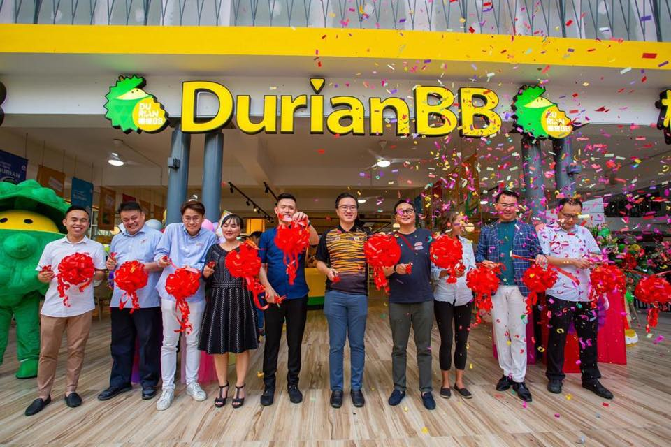 Official Launch of DurianBB KK Flagship @ Aeropod